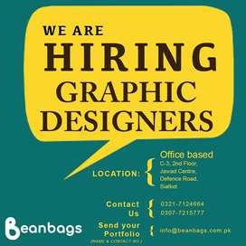 Graphic Designers and Marketing Staff Required