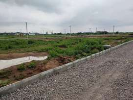 fully developed HMDA open plot for sale near Financial distric Hyd ORR