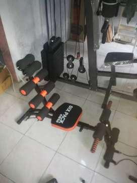 Alat fitnes Sit-up Multifungsi best Sixpack care