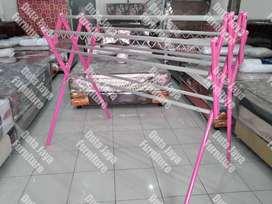 Jemuran Baju Alumunium Giant Tebal 180x78x160cm