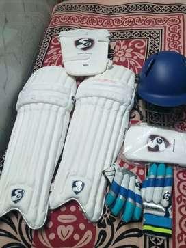 SG Cricket kit 15 days use