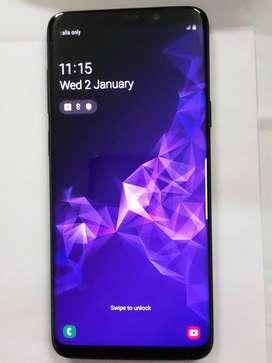 SAMSUNG GALAXY S9+, 64 GB, EXCELLENT CONDITION+ACCESSORIES, 1.5 yrs.