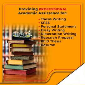 Thesis writing/editing/proofreading services - MBA, MS, DBA, Ph.D.