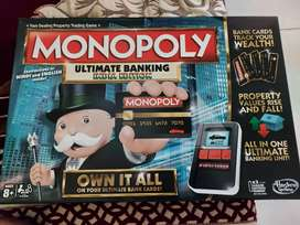 Monopoly digital board game.