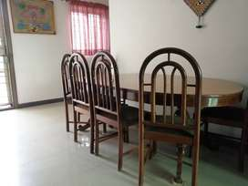 Sheesham wood Dinning Table (size 8 chairs)