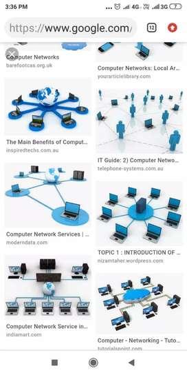 All computer network cable io box