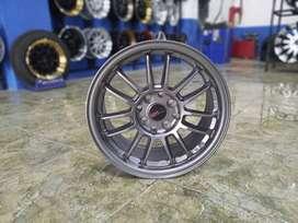 velg racing REVO 1403D HSR Ring 15X7 H8X100-114,3 ET35 SMG