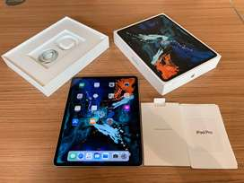 iPad Pro (2018) 3rd Gen 64GB Wifi Silver Fullset Mulus COD Jakarta