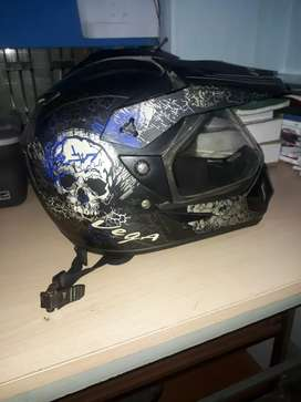 Vega monster helmet new