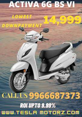 Honda activa 6 g in lowest down payment