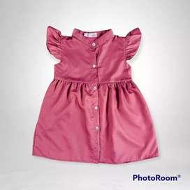Dress anak premium size 4-5 tahun