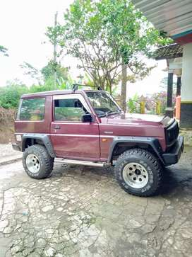Feroza 1994 5speed merah tua metalic