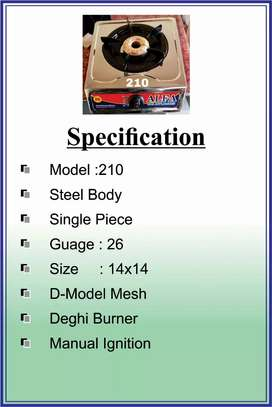 Flame Gas Stove model-210A