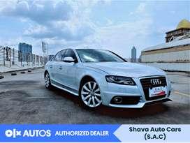 [OLX Autos] Audi A4 2010 S-Line 2.0 Bensin Silver #Shava
