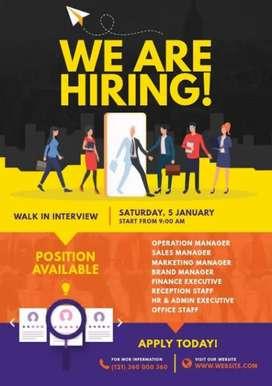Hubli Location Jobs For as A supervisor