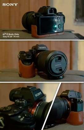 Sony a7ii Sony a7 mark ii bukan sony s7s dan lensa FE 28-70