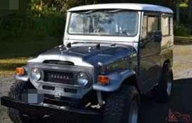 Modified toyota jeep