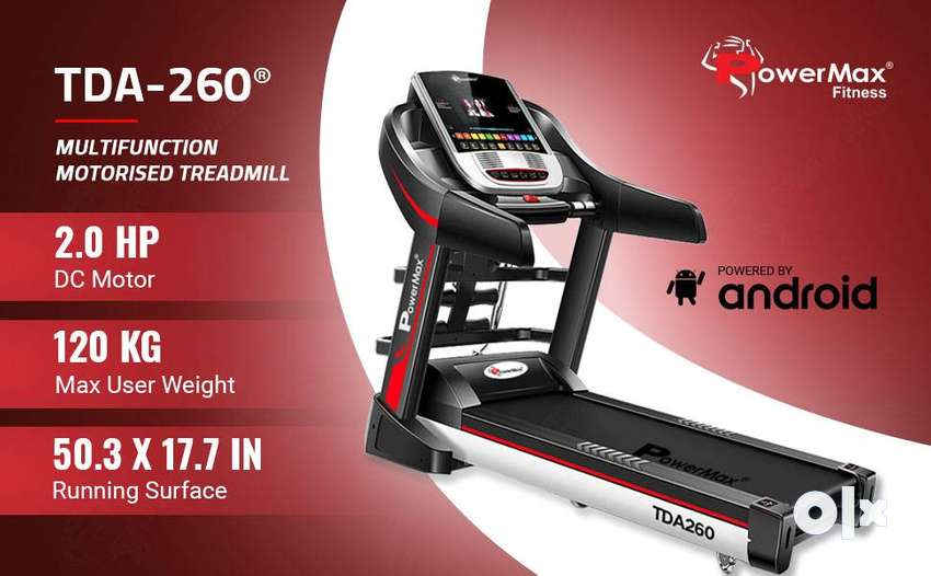 """Used Treadmill with 7"""" Touch Screen & Wifi (Just like New condition) 0"""