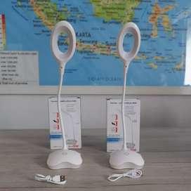 Lampu LED Meja Belajar/Lampu Baca White Portable Van Star 004