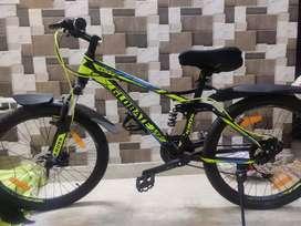 5 year warranty, Hero kross 24 inch 16 inch frame Brand new cycle