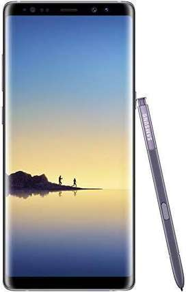 Note 8 64 GB black