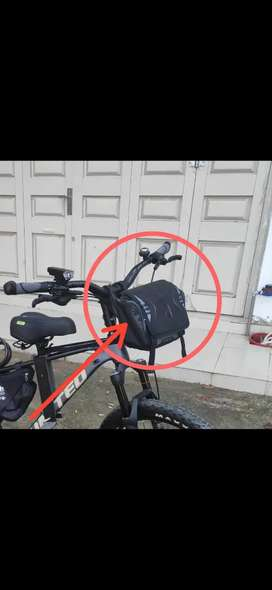 Tas MTB Front Blok (tas buat depan sepeda)