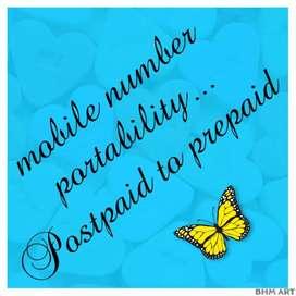 Post paid to prepaid