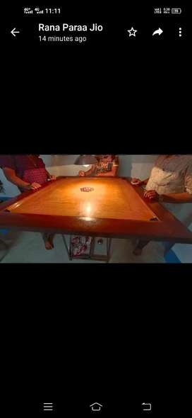 """Waterproof special """"48""""inch CARROM BOARD with GUTI."""