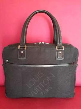 Tas import eks LOUIS VUITTON handbag besar knvs mix klt asl ad no seri
