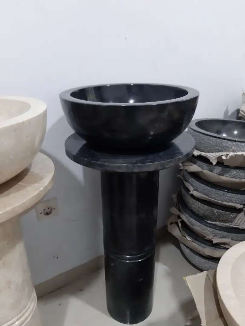 Wastafel Portable Marmer 0
