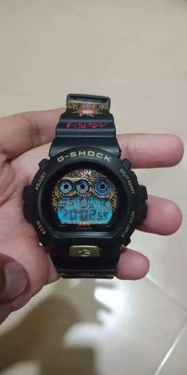 Gshock DW-6900GSWI-1RN Limited Edition Mulus