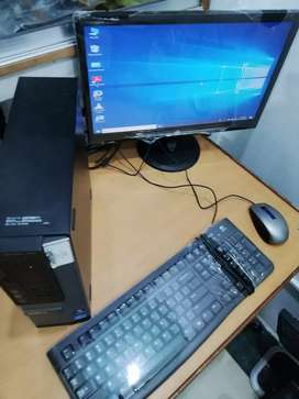 Complete Computer Dell Corei3 PC with Dell 17 inch Wide Screen LCD