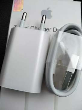 Charger + Kabel Original iPhone 5/5s/5c/5 SE Garansi 1 Bulan