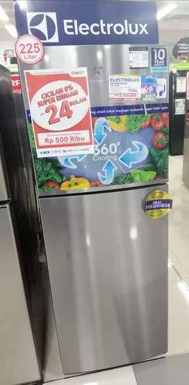 Kulkas LG 2 Pintu Cicilan cepat bunga bisa 0% hasil 3 menit