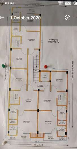 2bhk 23 lac home loan lift car parking
