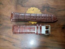 Original Tommy Hilfiger Burgundy leather Strap only Rs 1500 in 22 mm