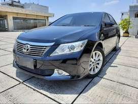 Toyota Camry V 2.5 At 2013 Hitam Servis Record Kondisi Terawat