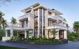 Jasa Arsitek Tangerang Desain Rumah 604m2 - Emporio Architect