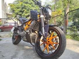 Power performance parts upgraded 390cc beast for you.