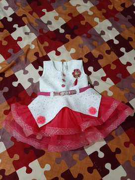 16 number baby girl frock