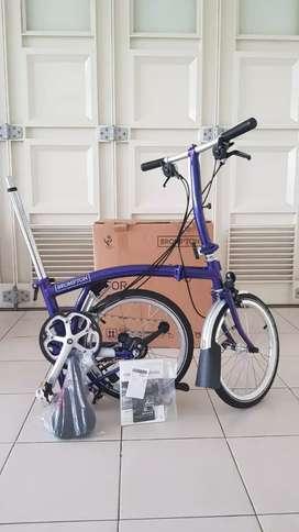 Sepeda Brompton S6L Purple Metalic BNIB 2020