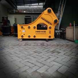 JUAL BREAKER PEMECAH BATU HMB 140B SETARA SOOSAN SB81