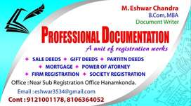 Only for women , dtp work , document typing , online work