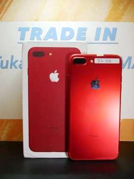 Iphone 7+ plus 128gb red