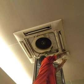 Jasa servis cuci ACBongkar pasang AC Perbaikan AC eror konslet