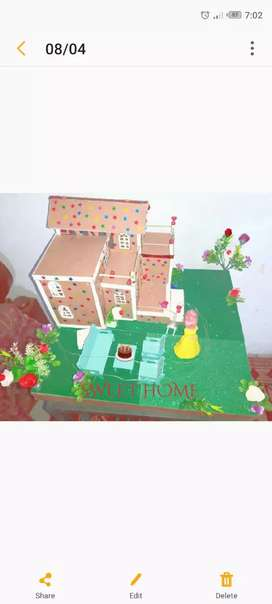 Kids house for home decortion