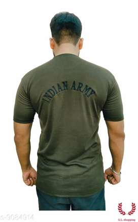 Indian Army Camaouflage Stylish T-shirt for men