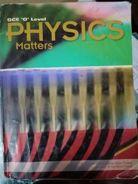 GCE olevels Physics Matters