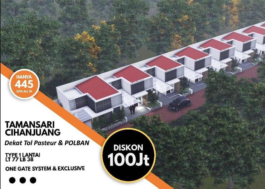 PROMO DISKON 100 jta Rumah 1 lantai di Tamansari Hanjuang 0