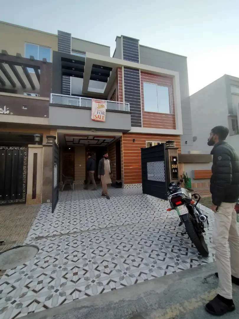 5 Marla house for rent in bahria town lahore 0
